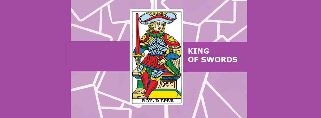 The King of Swords Tarot Card