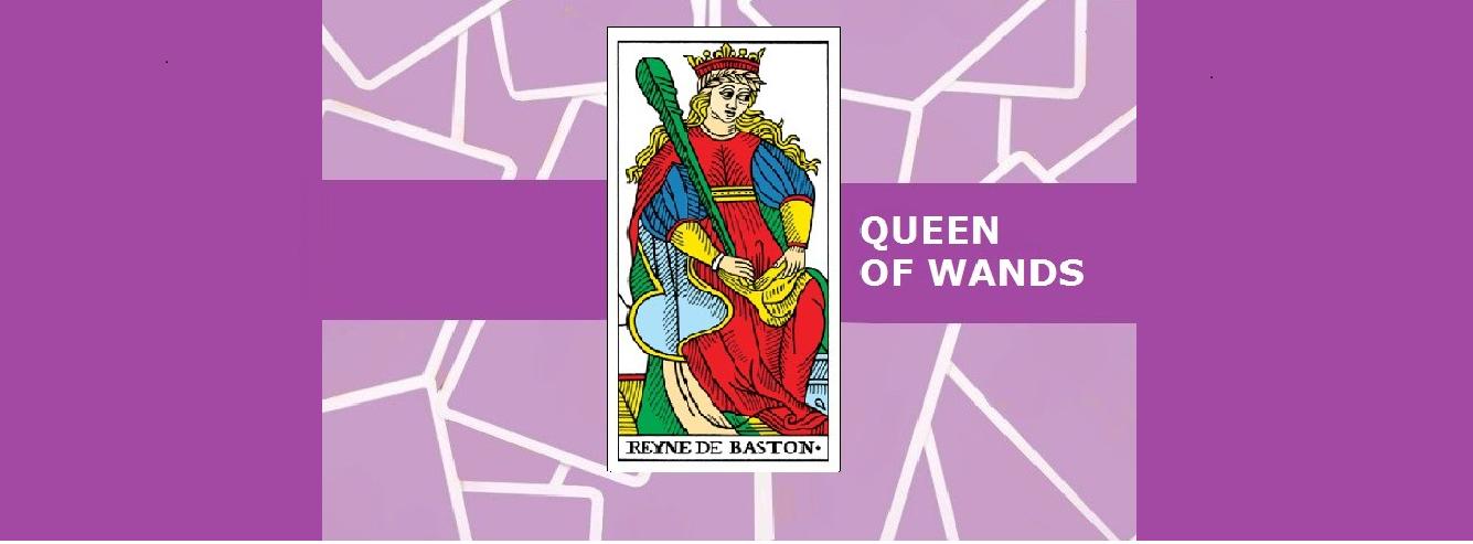 The Queen of Wands Tarot Card