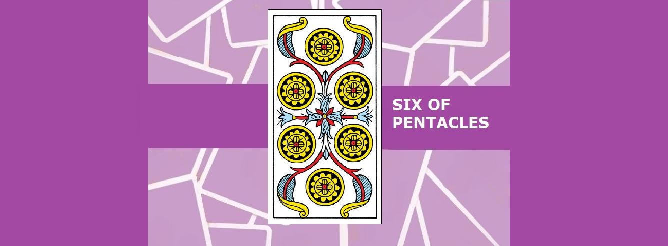 Six of Pentacles Tarot Card