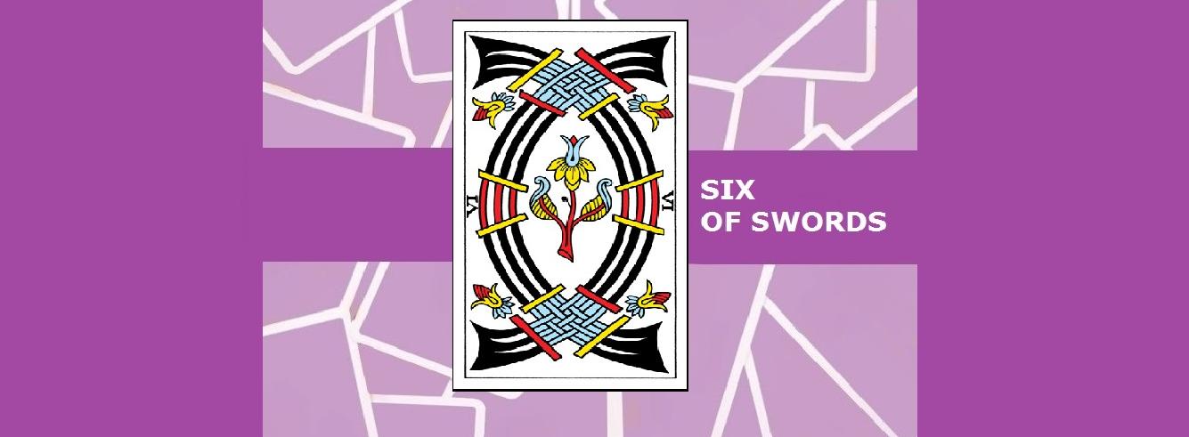 Six of Swords Tarot Cards