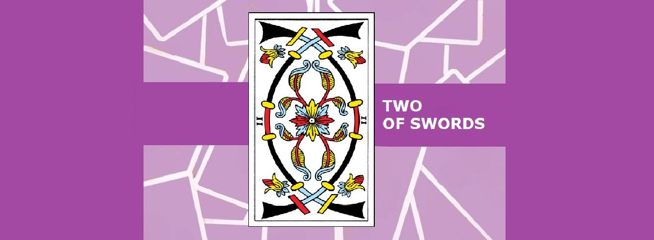 Two of Swords Tarot Card