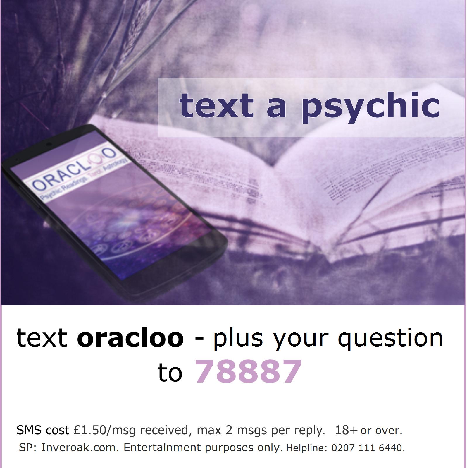 Text 78887 SMS Oracloo Service