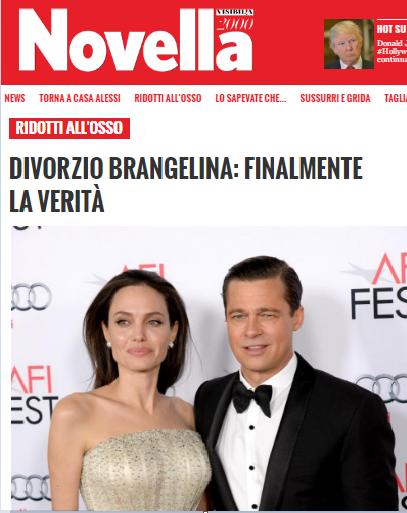 Oracloo in the press - Novella 2000 - Brangelina