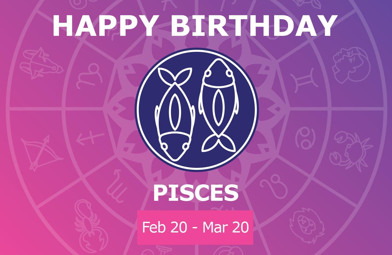 Oracloo Happy Birthday Pisces