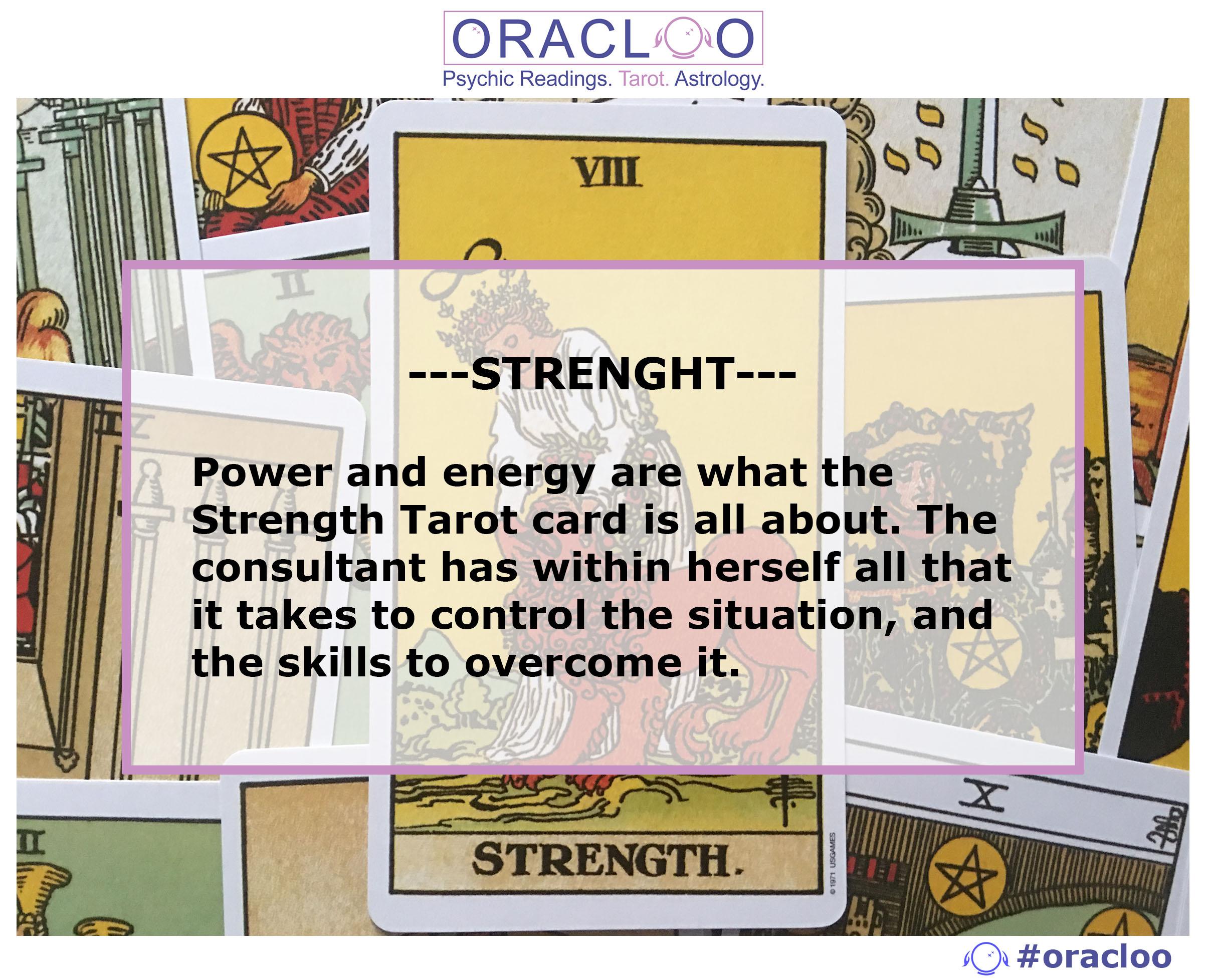 The Strength Tarot Card
