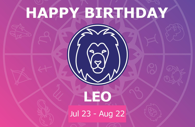 Oracloo Happy Birthday Leo