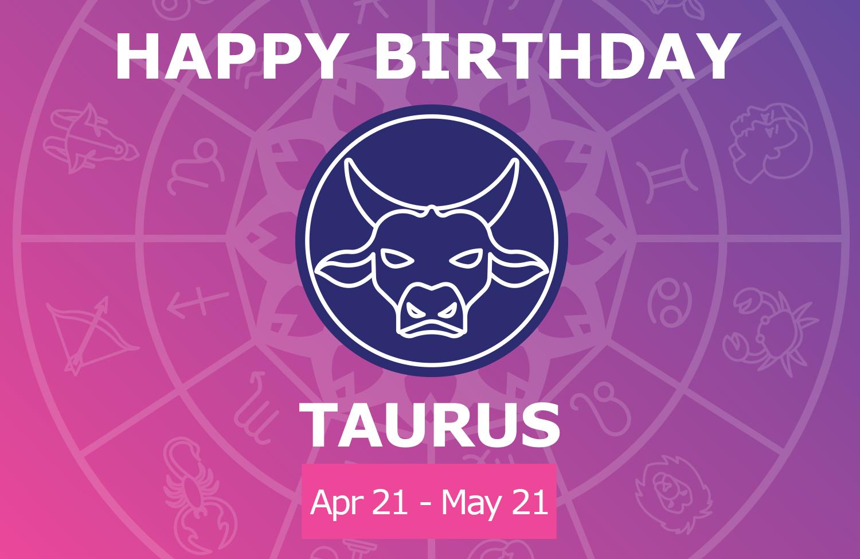 Oracloo Happy Birthday Taurus