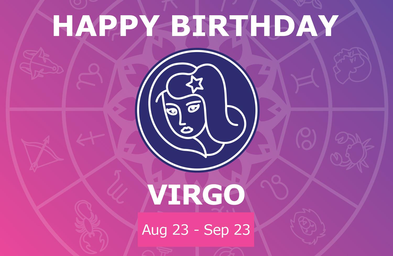 Oracloo Happy Birthday Virgo